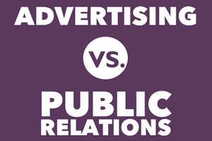 PR vs Advertising.PR